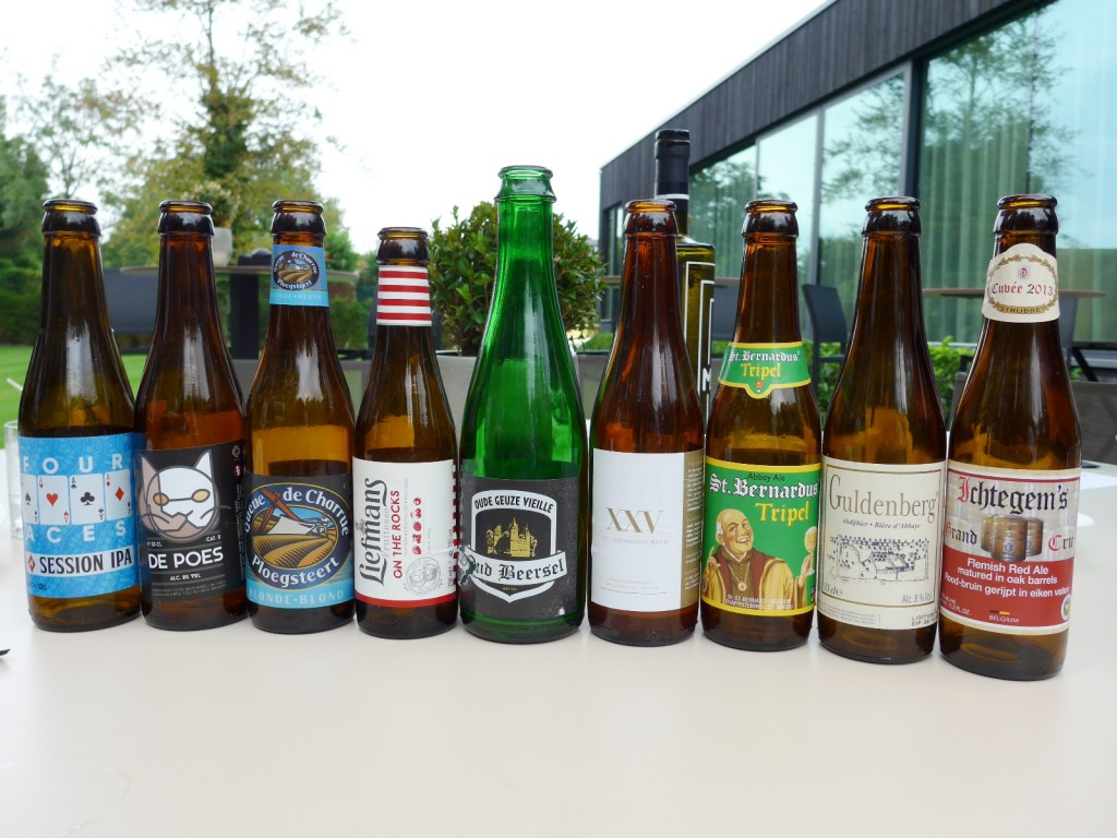 Michelin-starred Boury has a wonderful selection of unique Belgian beers, alot of them not available at your next door beer shop (Photo by Cheryl Tiu)