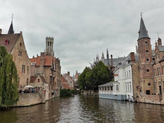 Hello from Bruges' most photographed landmark, Rozenhoedkaai! I can't wait to share with you some of my exciting (culinary) finds in Bruges, Belgium, courtesy of Visit Flanders and three-Michelin-starred Hertog Jan's Gert de Mangeleer! (Photo by Cheryl Tiu)