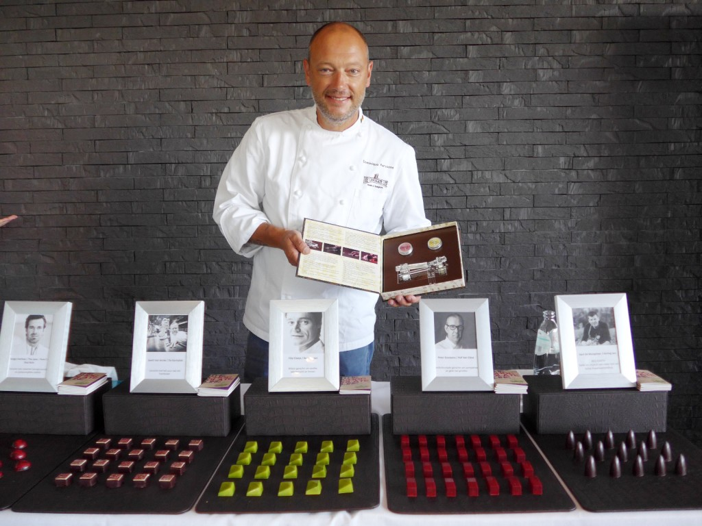 Dominique Persoone makes chocolates for Albert Adria, Alex Atala, Rene Redzepi, Gert de Mangeleer, Heston Blumenthal, and The Rolling Stones, under his The Chocolate Line. (Photo by Cheryl Tiu)