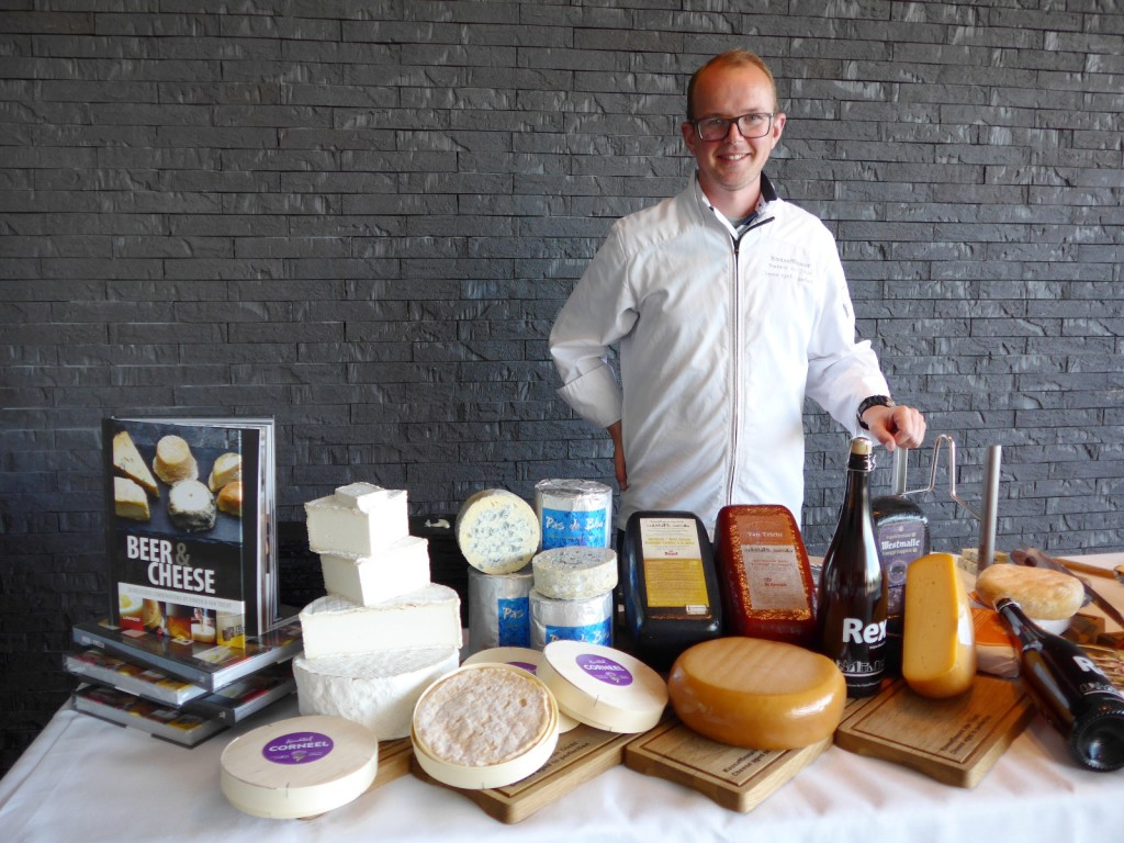 Frederic Van Tricht, whose family-owned eponymous Van Tricht, supplies cheese to most of the high end restaurants in the country, was also the one who taught me about beer and cheese pairing. (Photo by Cheryl Tiu)