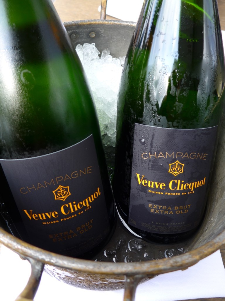 I must mention though this new product from Veuve Clicquot.. extra brut, extra dry, which they just launched! And Hertog Jan is the only restaurant in Belgium to carry it. Among the 3 champagne options for aperetif, I chose this. (Photo by Cheryl Tiu)