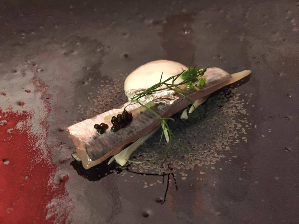 Sardine with candied lemon and fennel (Photo by Cheryl Tiu)
