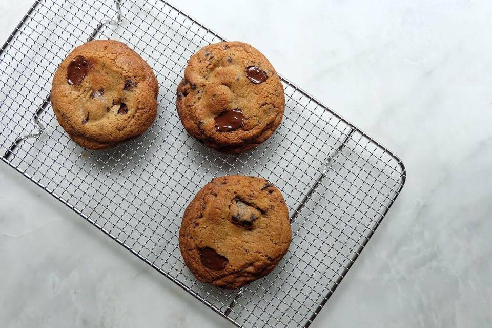 On Friday, October 20, The Moment Group's famed Mess Hall chocolate chip cookie will be priced at P55 (Photo courtesy of The Moment Group)