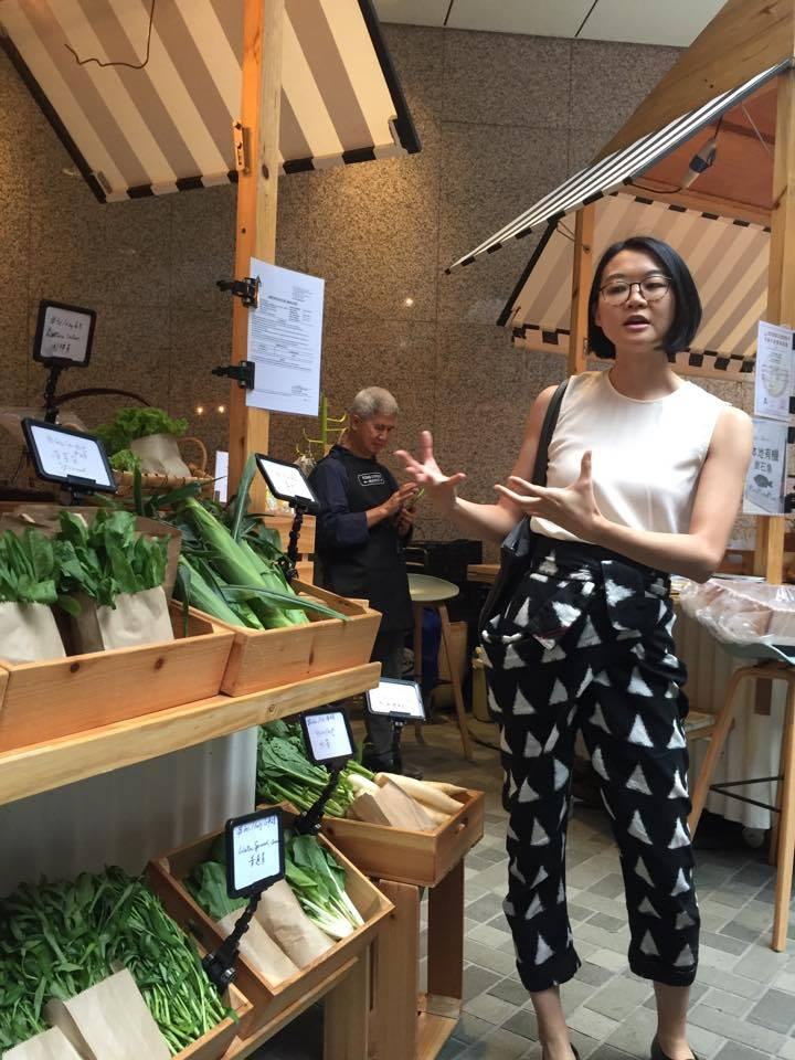 Janice Leung-Hayes (Also known as E-Ting) founded Tong Chong Street Market as a platform for food education- where people can learn about the ingredients they consume daily (Photo by Cheryl Tiu)
