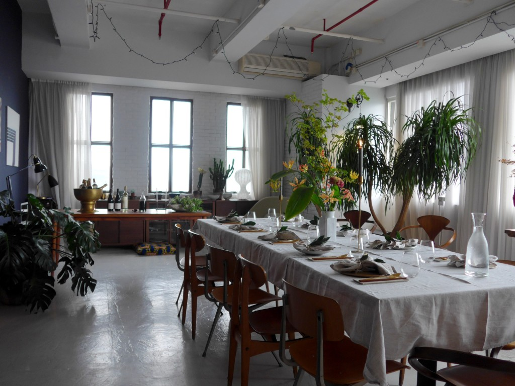 Mina's Sook private kitchen in Wan Chai is also her residence. How gorgeous, right?! (Photo by Cheryl Tiu)