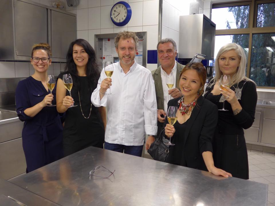 A champagne kitchen tour by chef Sven Elverfeld was the prelude to a most sublime dinner at AQUA (3 Michelin stars; 70th best restaurant in the world).