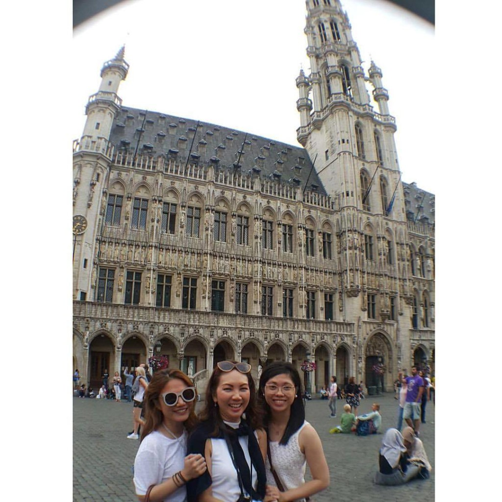 Brussels will remain fondly in my memory solely because of these two: my Lifestyle Asia editor and mentor dearest Tita Anna Sobrepena and daughter Mica <3