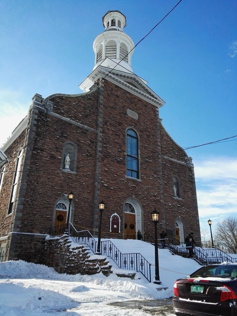 I spent Christmas this year in Burlington, Vermont- and went to the Co-Cathedral of Saint Joseph twice-- for Christmas Eve, and then again on Christmas morning-- which had one of the most beautiful homilies ever <3