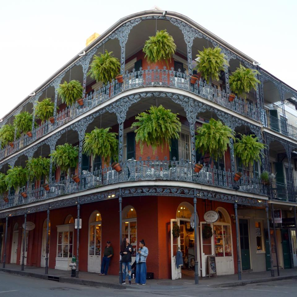 So gorgeous, right?! So nice to meet you, New Orleans!!!