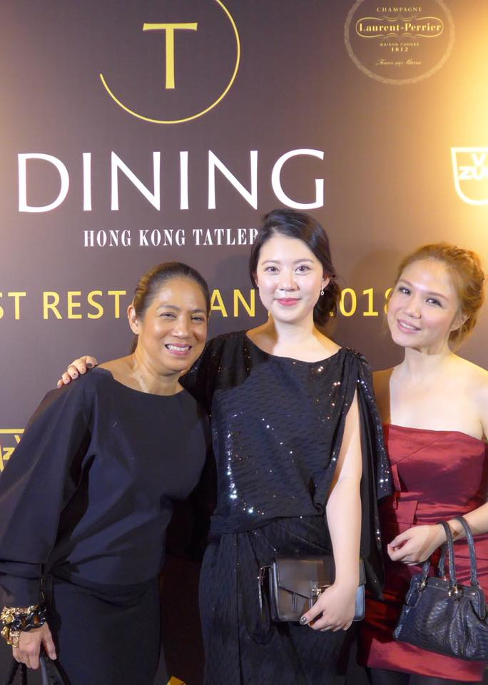 It was an honor to have been flown in to Hong Kong for Hong Kong Tatler's T Dining 2017 Best Restaurants Awards! <3 With me are Margarita Fores and Hong Kong Tatler's Editorial Director for Food, Charmaine Mok