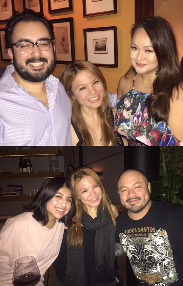 The peeps who always take care of me in NYC-- last year and this year! The newly engaged couple aka my NYC parents Rohit Gandhi and Jean Fernado, and my Latin sis and bro Talia Jimenez and Jorsand Diaz. Love you guys loads!!