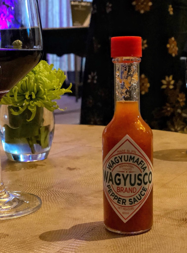 Too cute, they even have their own Wagyusco sauce! It's a combination of sweet,  spicy and peppery.  (Photo by Cheryl Tiu)